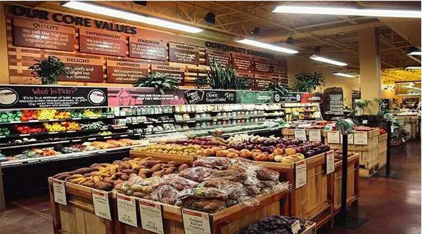 高档陈列 果蔬超市 小型便利店效果图  成都货架厂实例参考图:精品